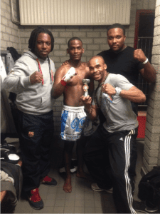Kickbox wedstrijd Adonis Sugara Mendez