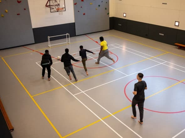 jdk activiteit voetbal